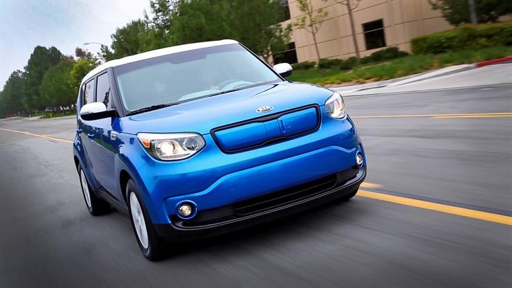 Kia Motors 2015 Soul EV (asia.EV)