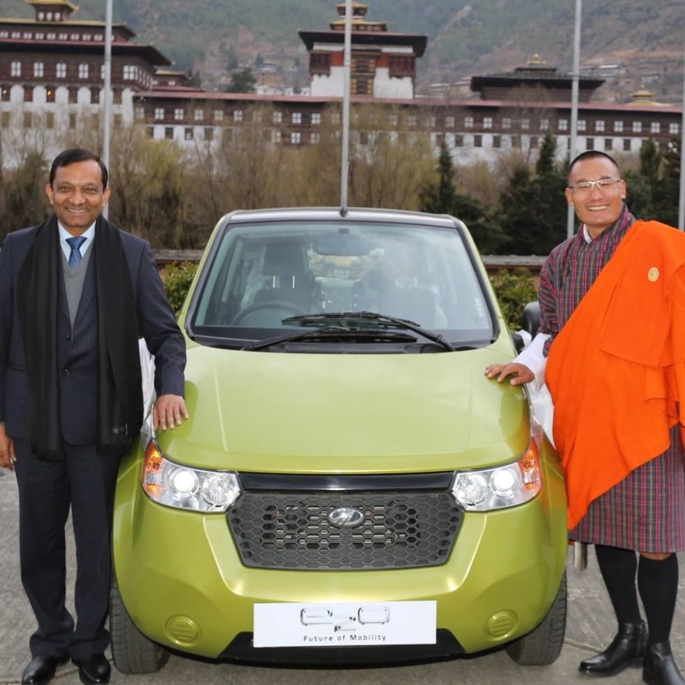 Mahindra Reva e20 Bhutan (asia.EV)